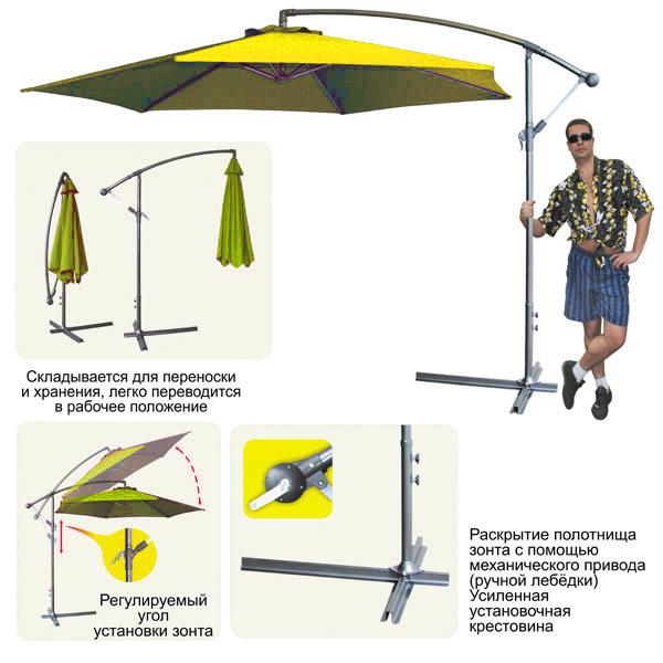Как сделать зонтик для дачи 173