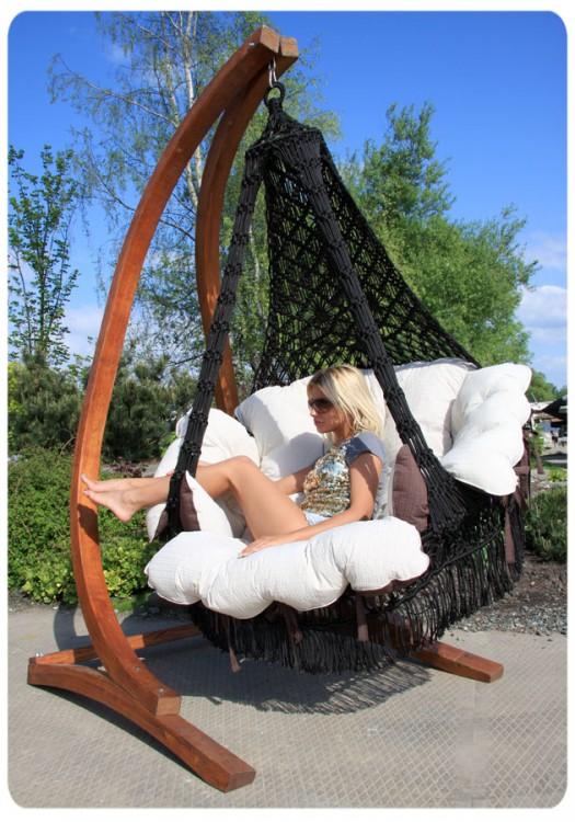 Подвесное кресло для дачи
